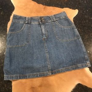 St John's Bay Denim Skort Size 10